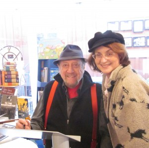 Fred Weintraub & Carolyn Fox at Book Signing in Santa Monica